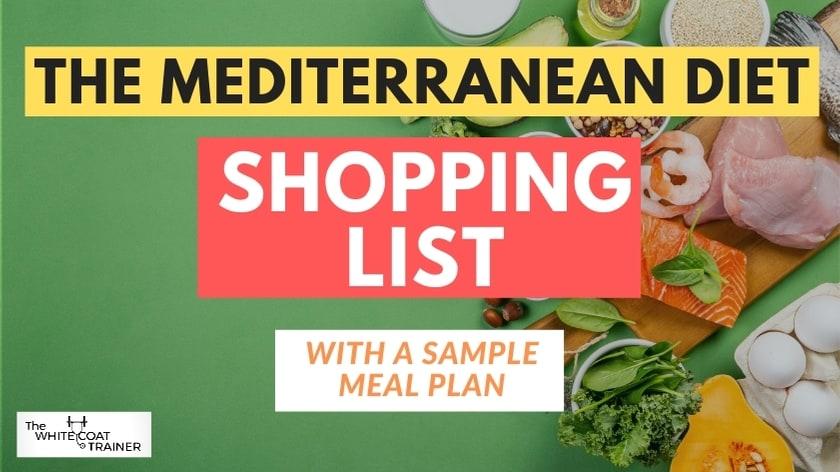 mediterranea- diet shopping-list