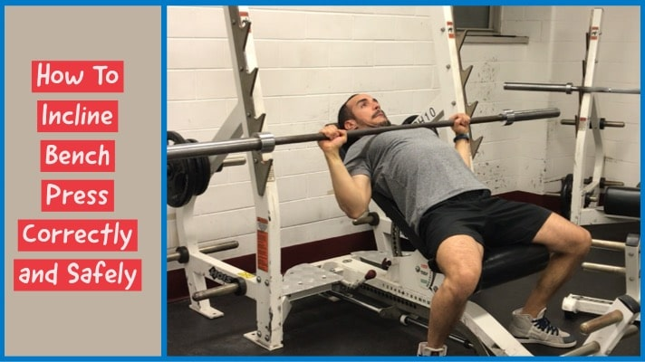 Awesome How To Incline Bench Press Correctly And Safely The White Alphanode Cool Chair Designs And Ideas Alphanodeonline