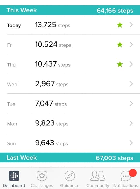 Fitbit died on Wednesday lol