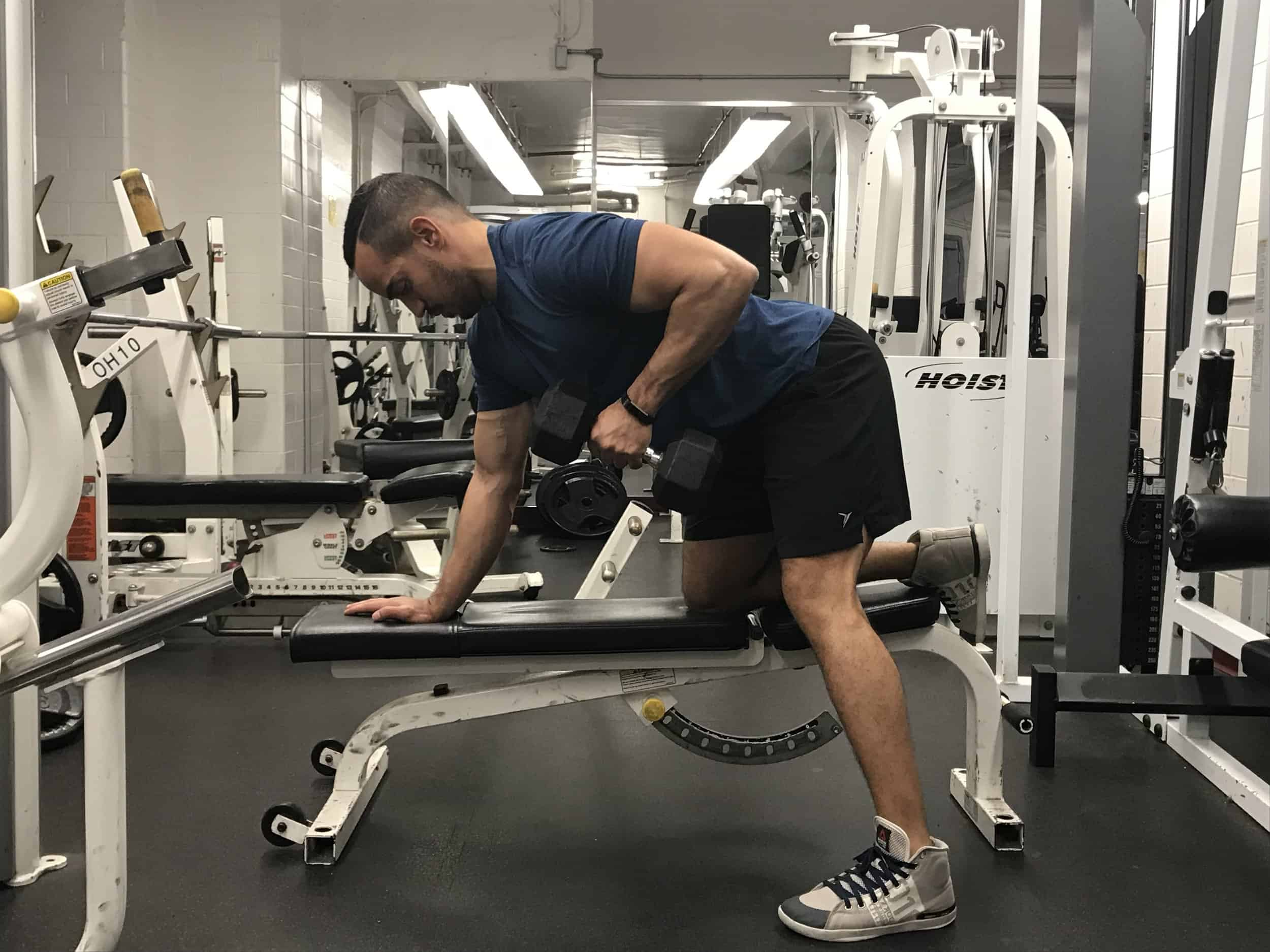 how-to-do-one-arm-db-row
