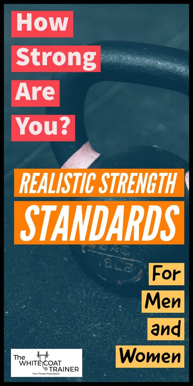 How Strong Are You? Realistic Strength Standards For Busy