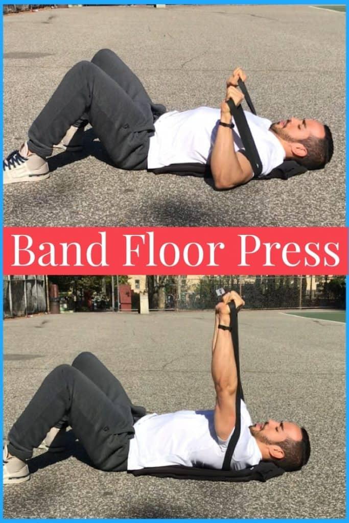band-bench-press