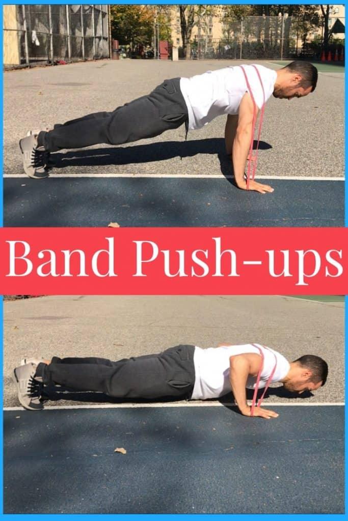 band-push-ups